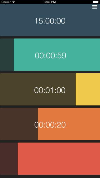 Multi Timer App