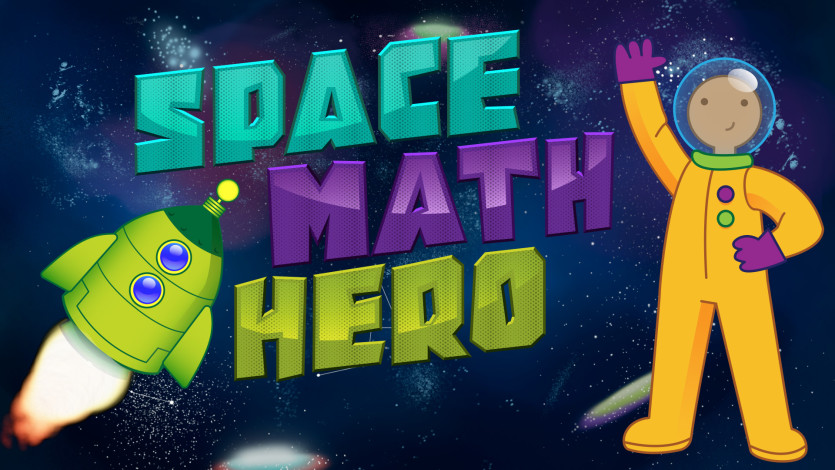 Space Math Hero 1.0 released for iOS/Android - Be the Brainy Hero Image